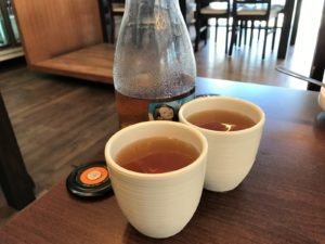 Bonga Korean Bbq Restaurant Also Offers A Free Flow Of Cold Or Hot Barley Tea For Diners Right After They Were Seated A Mouth Washer Such As Sliced Water