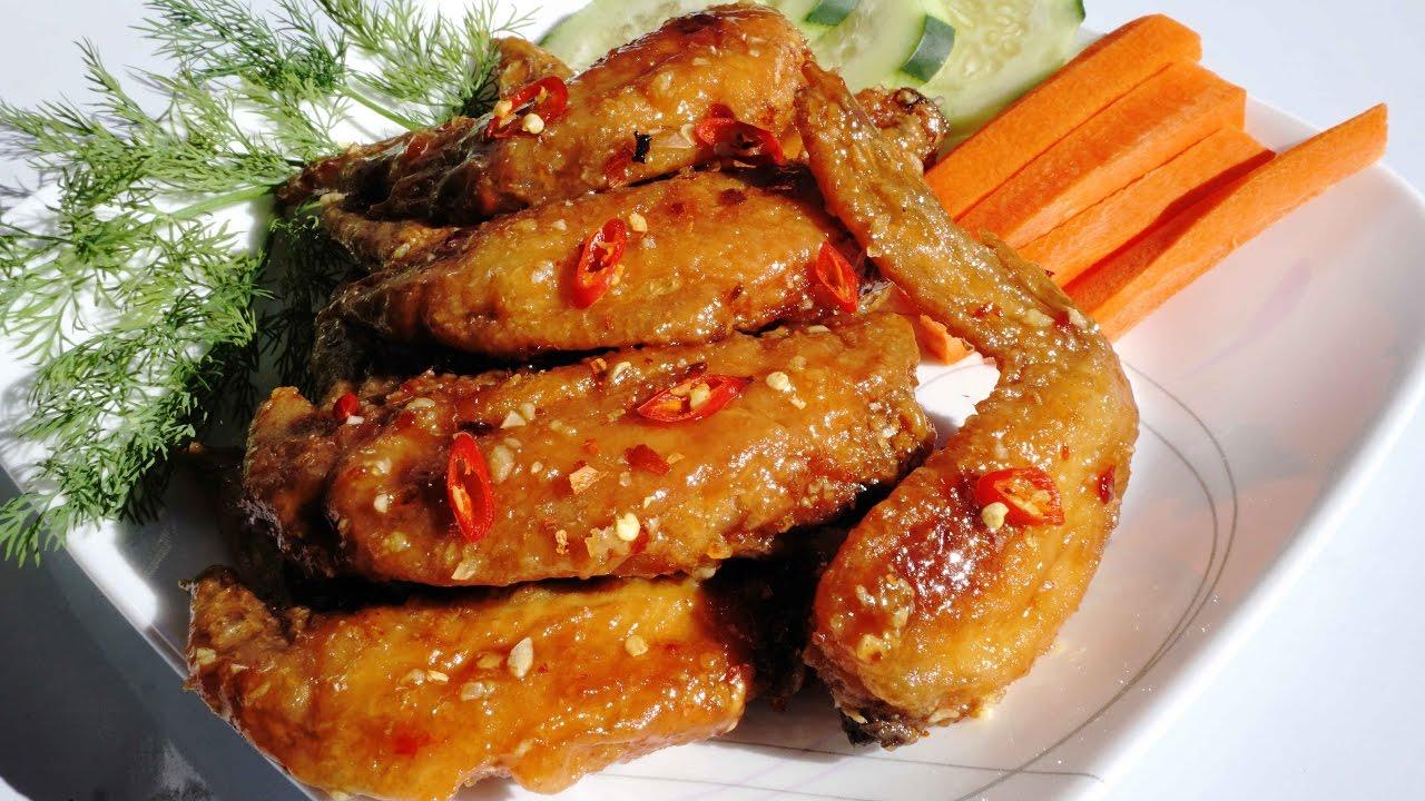 Vietnamese Chicken Wing (Canh Ga Chien Nuoc)