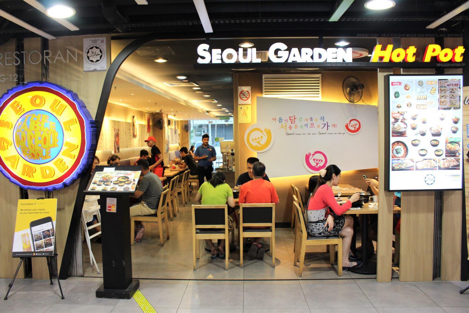 A Seoul Fully Delighted Meal Seoul Garden Hotpot Aroma Asian